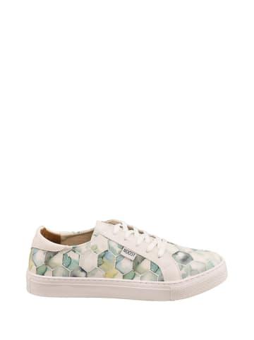 Noosy Sneakers wit/groen/meerkleurig