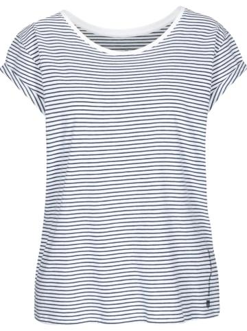 Basefield Shirt donkerblauw/wit