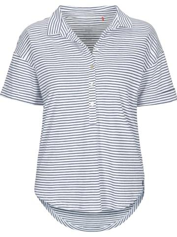 Basefield Poloshirt donkerblauw/wit