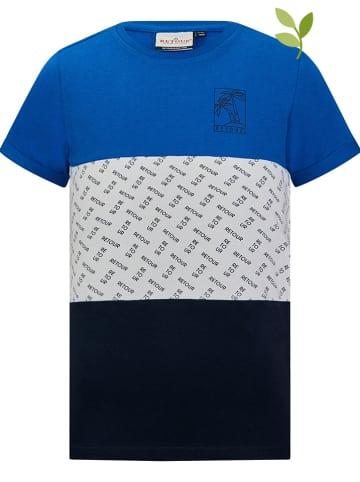 """Retour Shirt """"Floris"""" in Blau"""