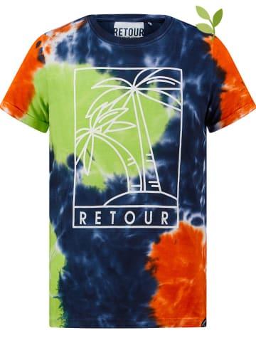 """Retour Shirt """"Bruno"""" donkerblauw"""