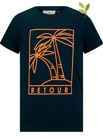 "Retour Shirt ""Camiel"" donkerblauw"