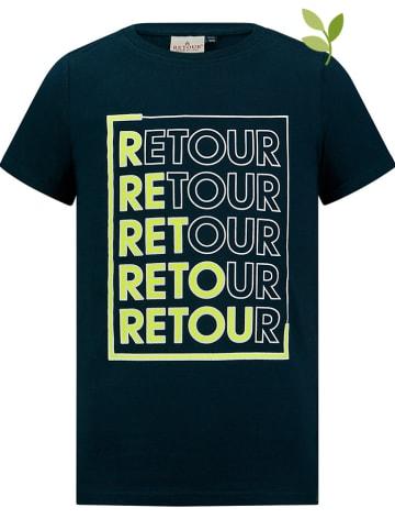 "Retour Shirt ""Enrico"" donkerblauw"