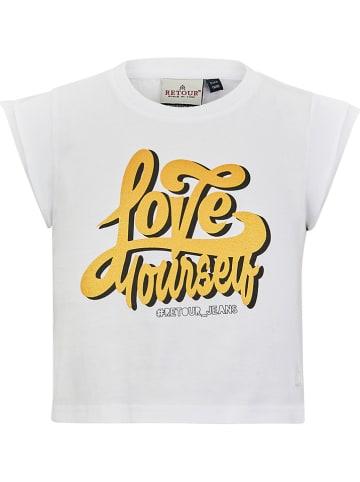 """Retour Shirt """"Solange"""" in Weiß"""