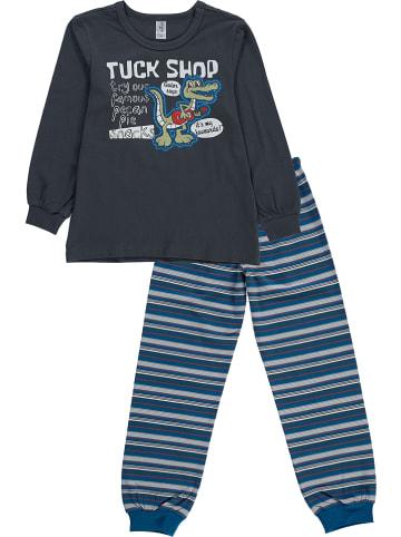 Schöller kids Pyjama in Schwarz/ Blau/ Bunt