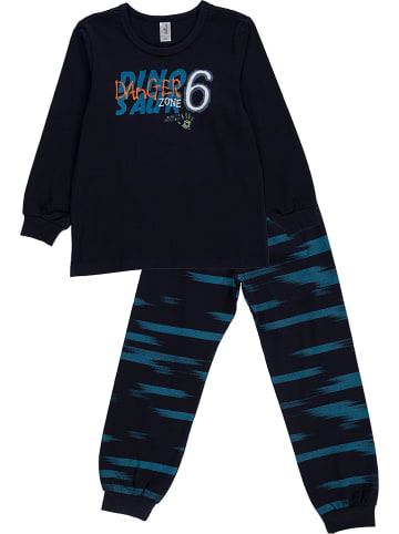 Schöller kids Pyjama donkerblauw