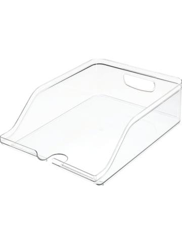 "Idesign Koelkastorganizer ""Crisp"" transparant - (B)35,5 x (H)10 x (D)26 cm"