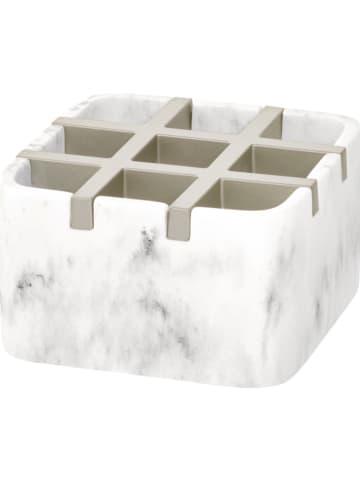 """Idesign Aufbewahrungsorganizer """"Dakota"""" in Weiß - (B)10,2 x (H)6,2 x (T)10,2 cm"""