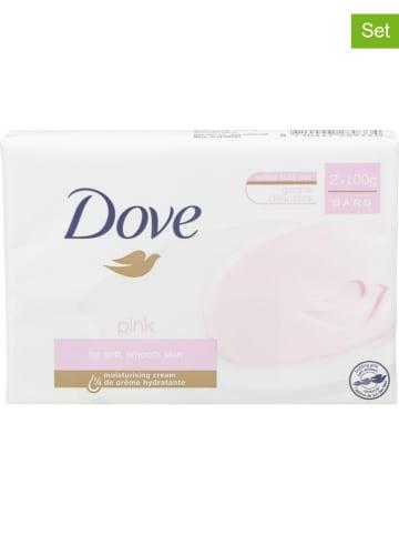 """Dove 12-delige set: zeep """"Pink"""", elk 2 x 100 g"""