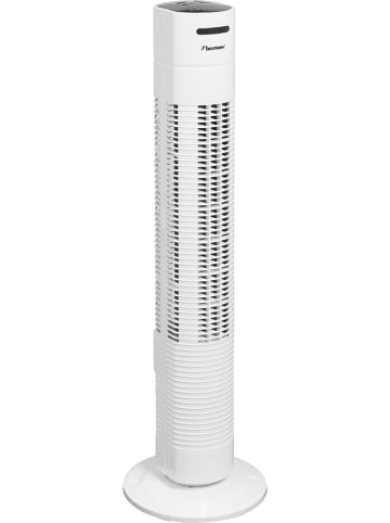 BESTRON Kolomventilator wit - (H) 78 cm