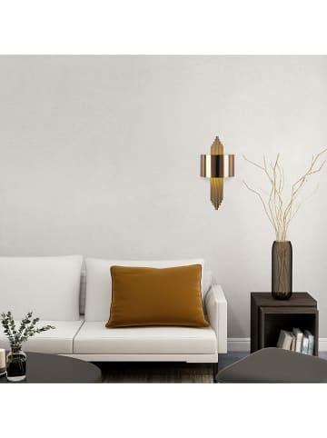 "Mioli Wandlamp ""Vintage"" goudkleurig - (B)22 x (H)75 cm"