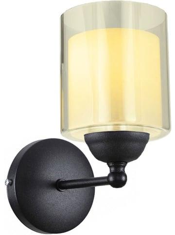 Mioli Wandlamp zwart/grijs - (H)26 cm