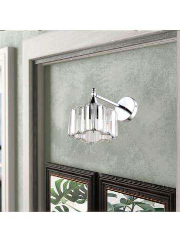 ABERTO DESIGN Wandlamp chroomkleurig - (H)30 cm
