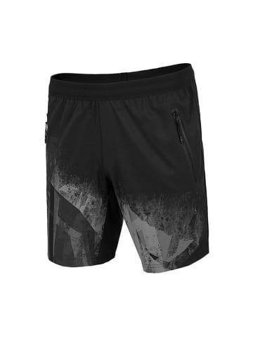 4F Shorts in Schwarz/ Grau