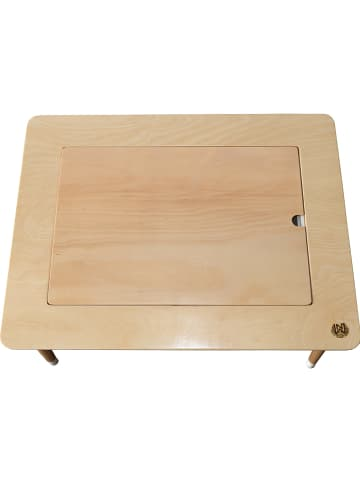 Woody Kid Store Kindertafel naturel - (B)80 x (H)44 x (D)58 cm