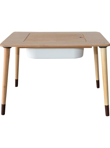 Woody Kid Store Kindertafel naturel - (B)67 x (H)48,5 x (D)44 cm