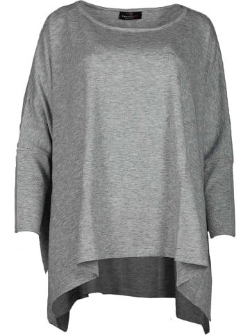 Zwillingsherz Poncho  in Grau
