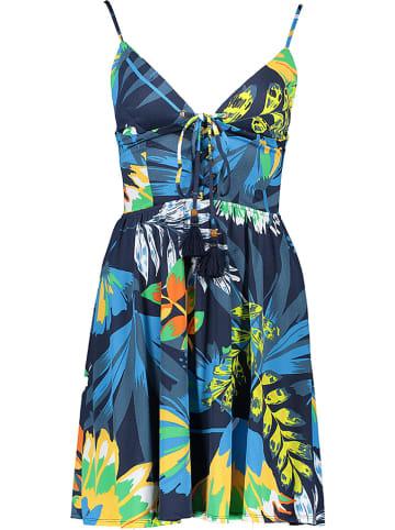 """Maaji Sukienka """"Sea Circus"""" w kolorze granatowym ze wzorem"""