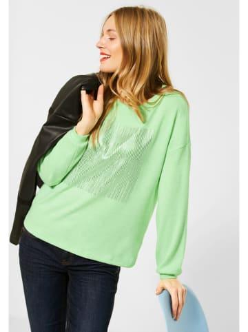 Street One Bluza w kolorze jasnozielonym