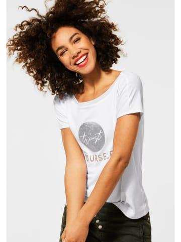 Street One Koszulka w kolorze białym
