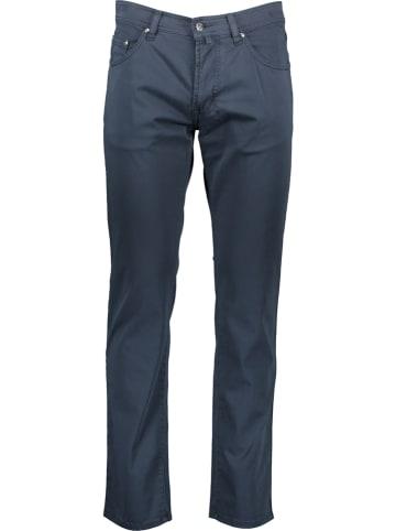 """Pierre Cardin Spodnie """"Deauville"""" - Regular fit - w kolorze granatowym"""