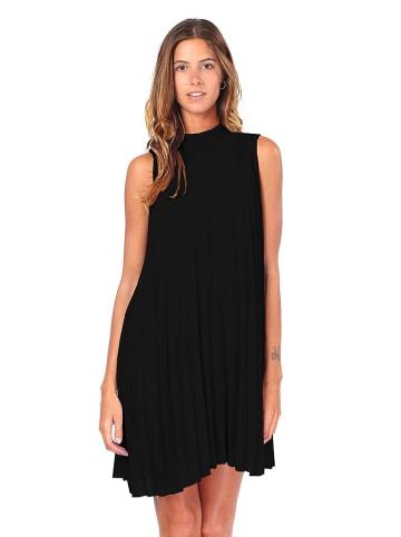 ASSUILI Sukienka w kolorze czarnym