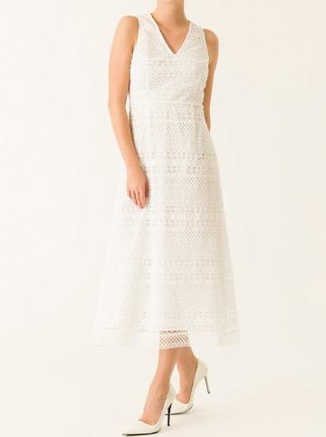 IVY & OAK Sukienka w kolorze białym