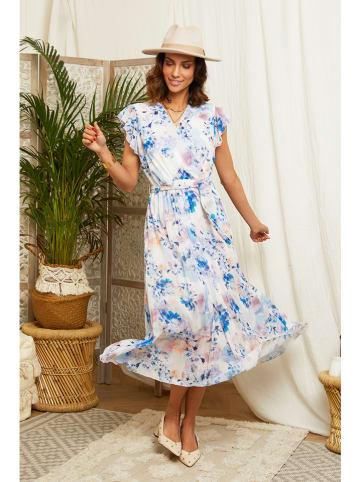 L'armoire de Suzette Sukienka w kolorze niebiesko-białym