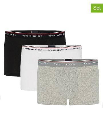 Tommy Hilfiger Underwear 3-delige set: boxershorts lichtgrijs/wit/zwart