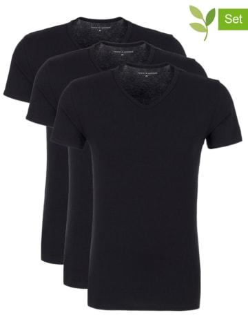Tommy Hilfiger Underwear 3-delige set: shirts zwart