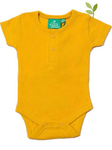 Little Green Radicals Body w kolorze żółtym