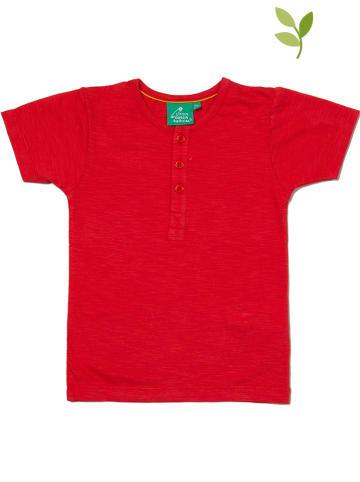 Little Green Radicals Koszulka w kolorze czerwonym