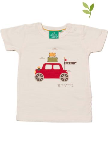 Little Green Radicals Koszulka w kolorze brzoskwiniowym