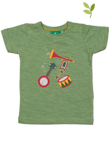 Little Green Radicals Koszulka w kolorze zielonym