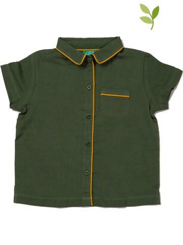 Little Green Radicals Koszula w kolorze khaki