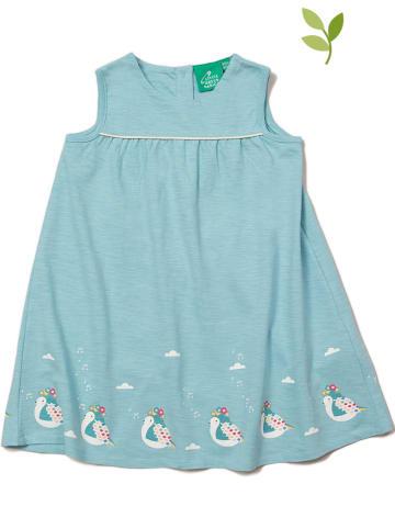 Little Green Radicals Sukienka w kolorze błękitnym