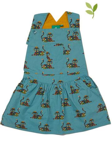 Little Green Radicals Sukienka w kolorze niebieskim