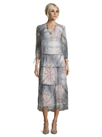 CARTOON Sukienka w kolorze jasnoróżowo-kremowo-szarym