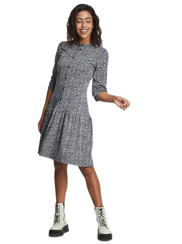 CARTOON Kleid in Dunkelblau/ Grau