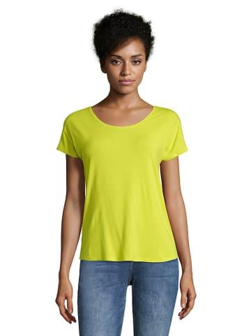 CARTOON Koszulka w kolorze limonkowym