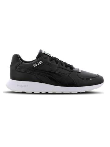 Puma Skórzane sneakersy w kolorze czarnym