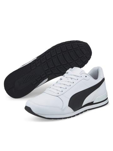 "Puma Sneakersy ""ST Runner V2 Full L"" w kolorze białym"