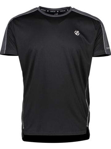 """Dare 2b Koszulka sportowa """"Discernible"""" w kolorze czarnym"""