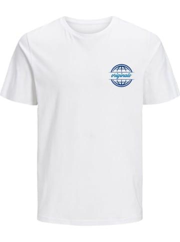 """Jack & Jones Koszulka """"COLTON"""" w kolorze białym"""