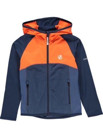 "Dare 2b Fleece vest ""Hasty Core"" donkerblauw/oranje"