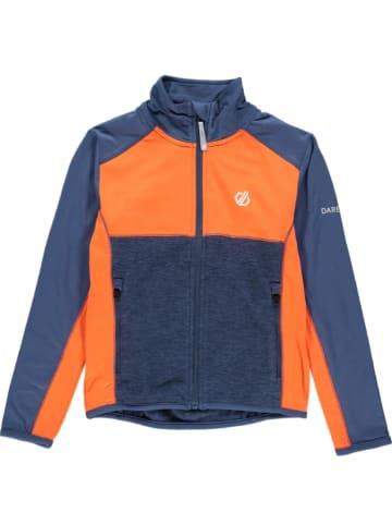 "Dare 2b Fleece vest ""Except Core"" donkerblauw/oranje"