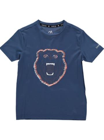 """Dare 2b Functioneel shirt """"Rightful"""" donkerblauw"""
