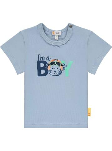 Steiff Shirt lichtblauw