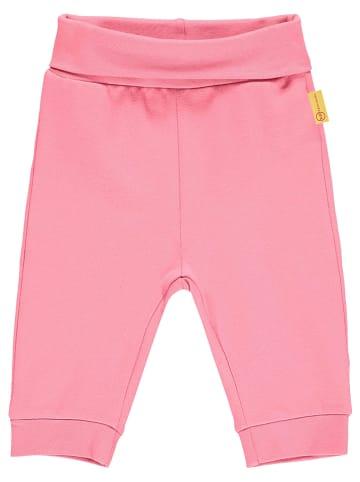 Steiff Spodnie dresowe w kolorze różowym