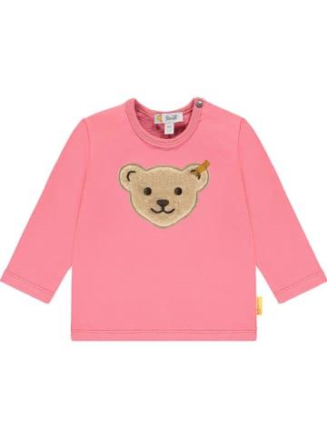 Steiff Bluza w kolorze różowym